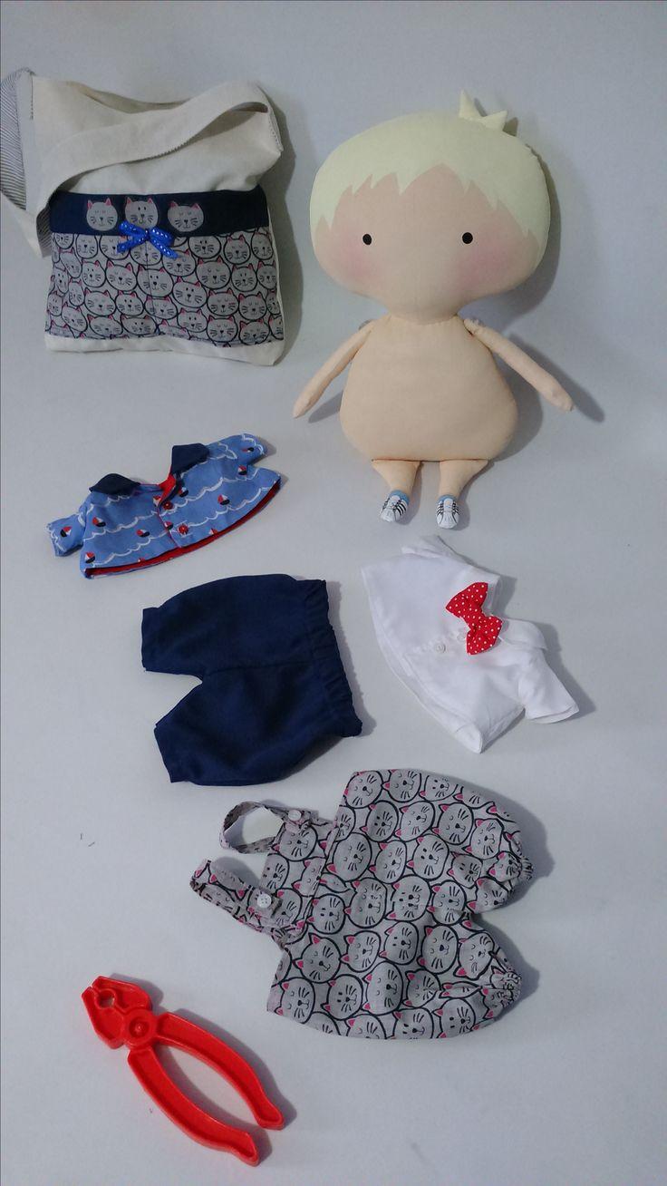♡Tilda Doll Boy♡ TILDA TOY BOX DE ÓRDEN DE ENCARGO / LA PERSONALIZÓ!!!