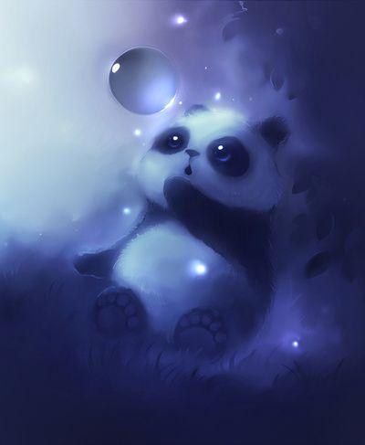 Panda bubble google search just plain cute - Panda anime wallpaper ...