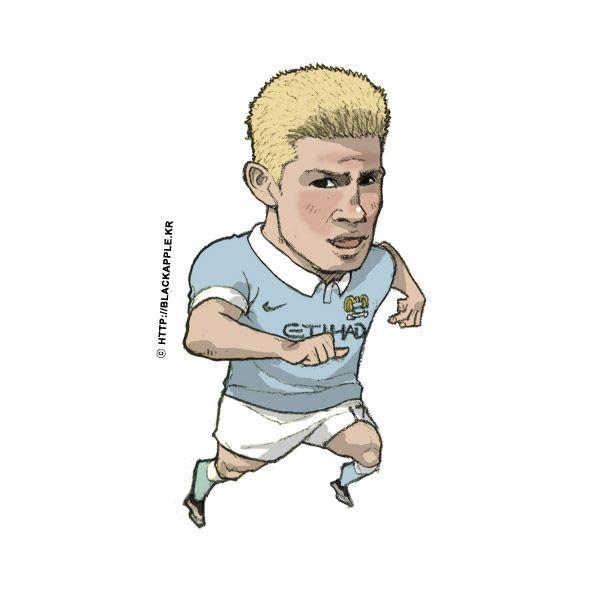 Manchester City No.17 Kevin De Bruyne Fan Art