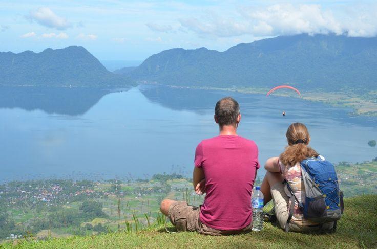 danau maninjau  bukittinggi sumatra barat  indonesia