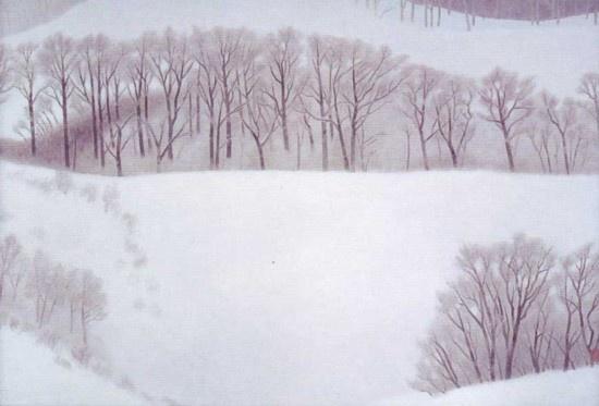 東山魁夷  冬の旅 1989年