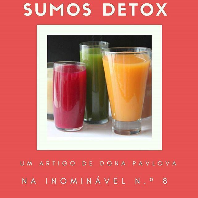 """Bebidas saudáveis para """"estar no ponto"""". Já provaram? Para ler e saborear, na #revistainominavel n.º 8.  http://buff.ly/2uwedfC  #revistadigital #revistaonline #revista #revistaportuguesa #portuguesemagazine #portugal #bookstagram #instadaily #leitura #culinaria #sumos #detox  [link in bio]"""