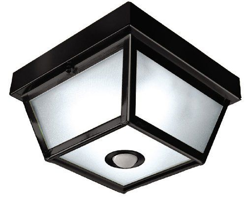 24 best kitchen outdoor lights with motion senors images on square black finish motion sensor outdoor ceiling light title 24 approved this is on backorder but should be in tuesday or wednesday mozeypictures Images