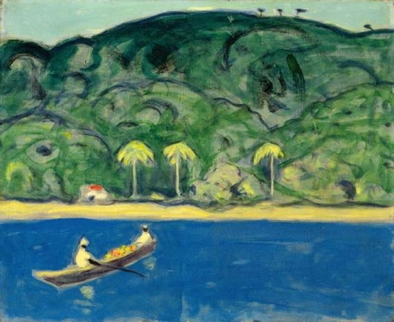 James Wilson Morrice - Fruit Boat, Trinidad, 1921,... on MutualArt.com