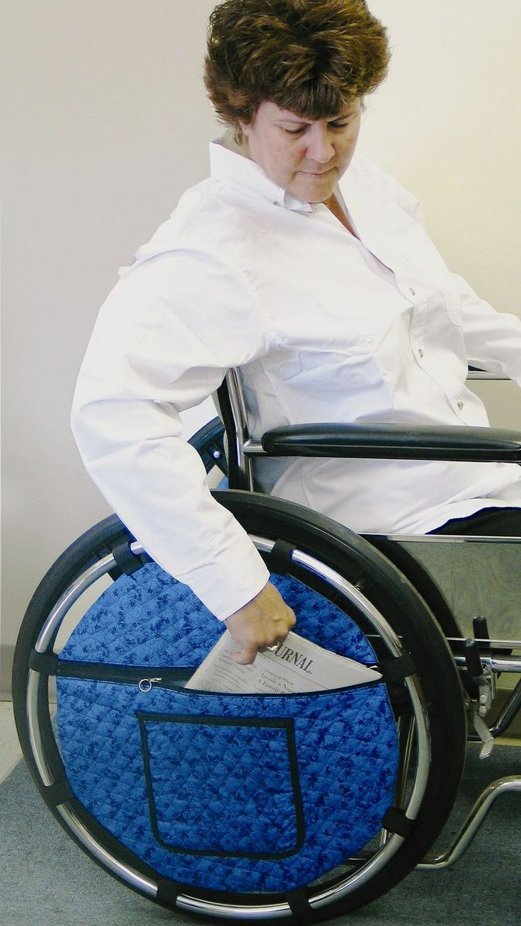 Wheelchair Wheel Pouch