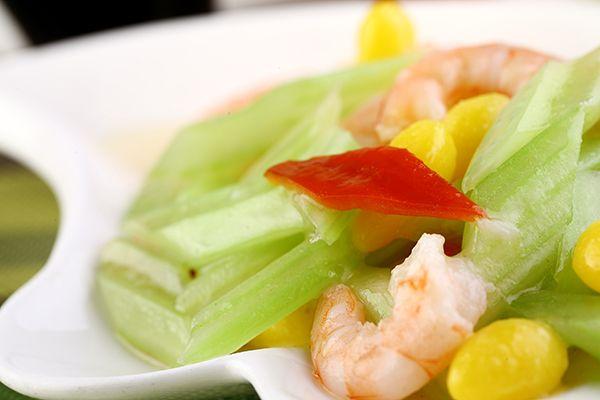 Celery with Shrimp http://PicanhaBBQ.com