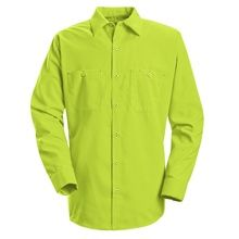 Enhanced Visibility Work Shirt SS14YE | Automotive Uniforms offer fast and free shipping with any purchase of $48 or more