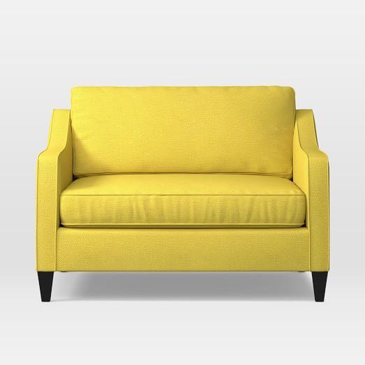 Best Paidge Chair And A Half Twin Sleeper Chair A Half 400 x 300