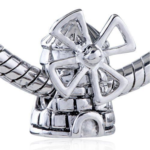 Pugster Windmill European Bead Charm Fits Pandora Charm Bracelet Pugster. $12.49. Money-back Satisfaction Guarantee. Free Jewerly Box. Pugster are adding new designs all the time. Fit Pandora, Biagi, and Chamilia Charm Bead Bracelets. Unthreaded European story bracelet design