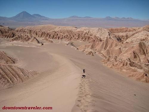 Sandboarding in San Pedro de Atacama, Chile!