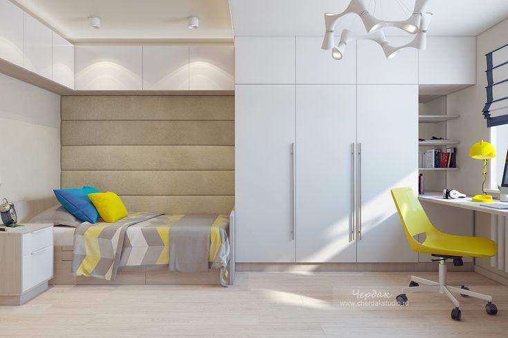 Детская в современном стиле в Санкт-Петербурге (СПб) | Дизайн интерьера от студии Чердак