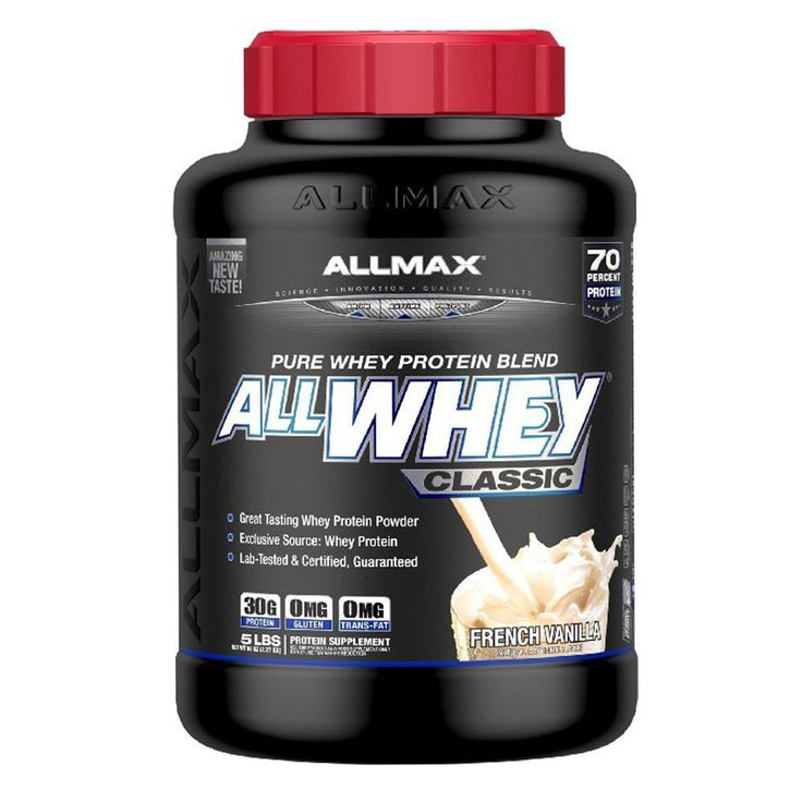 ALLMAX Nutrition, AllWhey Classic, Pure Whey Protein Blend, French Vanilla