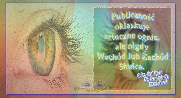 Publiczność - Christian Friedrich Hebbel  www.JasnowidzJacek.blogspot.com