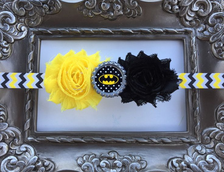 Batman Headband!  Bat Girl Headband!  Batgirl Baby, Batgirl accessories - pinned by pin4etsy.com