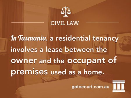 https://www.gotocourt.com.au/civil-law/tas/residential-tenancies The Residential Tenancy Act 1997 sets out the general obligations of landlords and tenants in Tasmania in relation to such things as rent, repairs, bonds and sub-lets/transfers.
