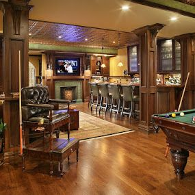Irish Pub Inspired Home Pub Bars For Home Man Cave