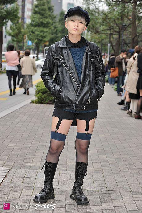 androgynous street fashion | Fashion | Pinterest | Tokyo ...