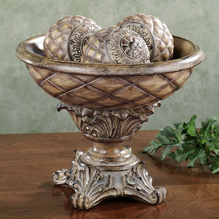 303 best CENTERPIECE BOWLS DECORATIVE images on Pinterest