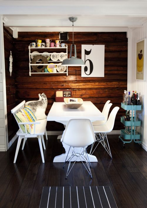 dining room via Design Sponge