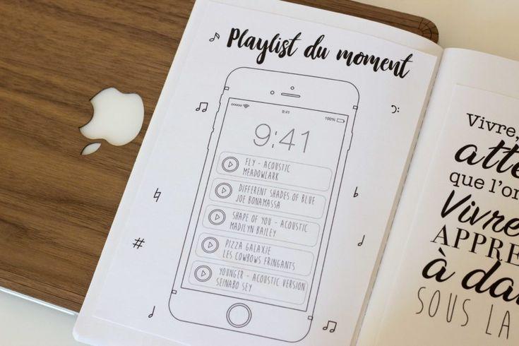 """147 mentions J'aime, 8 commentaires - Myriam (@dolcissima_designs) sur Instagram : """"Page minimaliste uniquement pour les tâches de la semaine prochaine. Parfois c'est bien de ne pas…"""""""