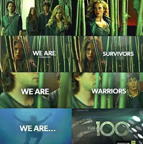 The 100 season 2 ♥ | The 100 | Pinterest | The 100, Bellarke and The 100 cast