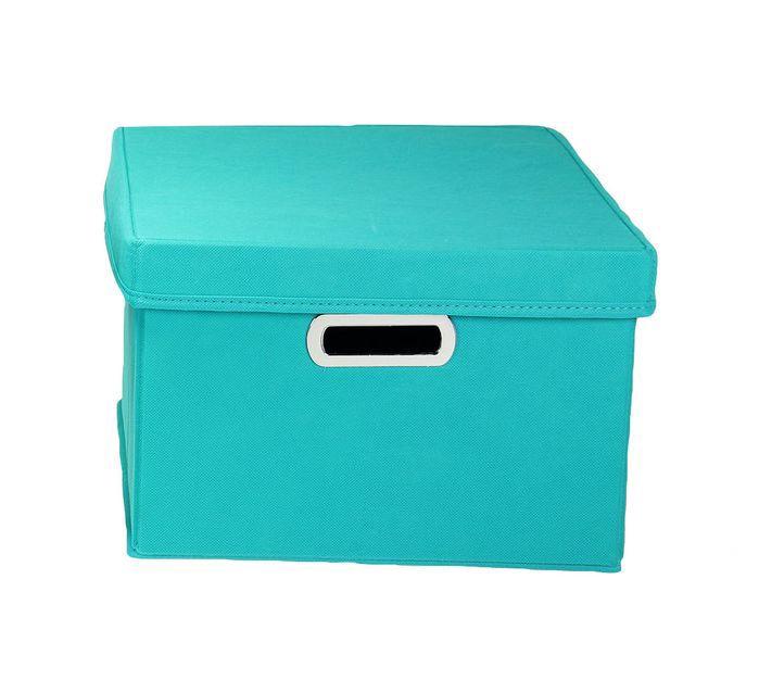 MUDROOM LAUNDRY Wayfair Basics Storage Box with Lid