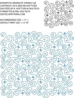 28 best Digitized Longarm Quilting Designs images on Pinterest ... : digital longarm quilting patterns - Adamdwight.com