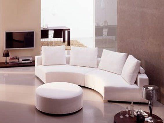 Semicircular sofa / contemporary / fabric MAXIM Signature Home Collection