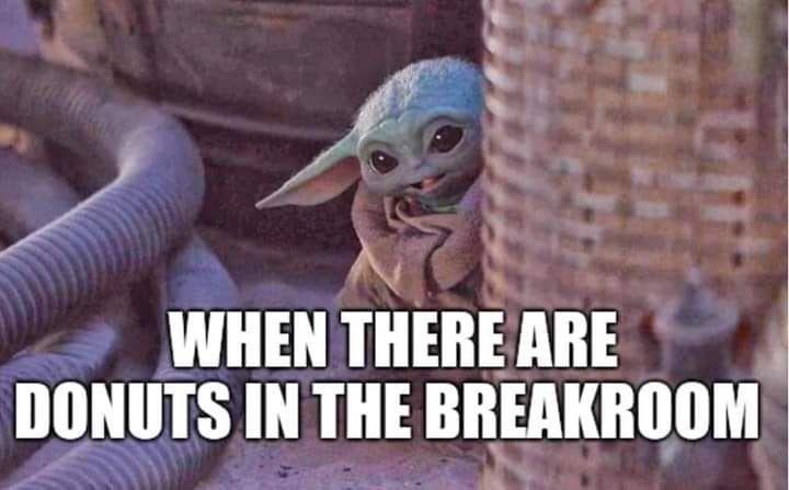 Pin By Jackie Benson On Baby Yoda Yoda Meme Humor Work Humor
