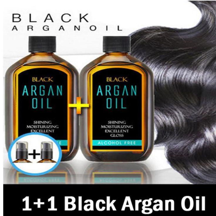 [1+1] Magical Hair Theraphy Black Morocco Argan Oil (100ml + 100ml) #raon