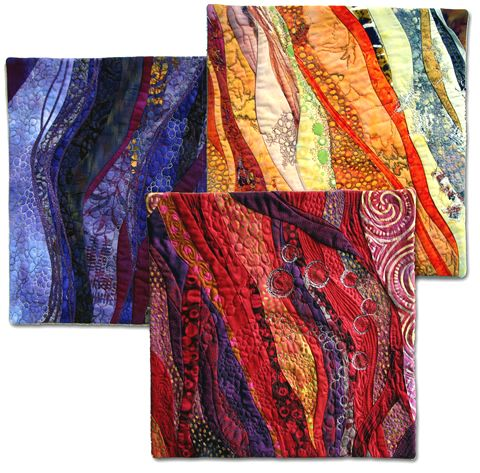 Hilde Morin - her work is beautifully textured