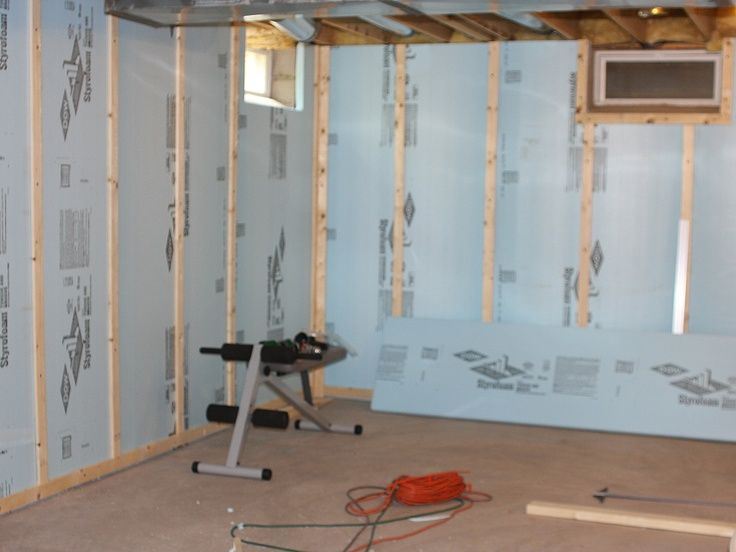 17 best ideas about insulating basement walls on pinterest basement insulation concrete - Basement concrete wall ideas ...