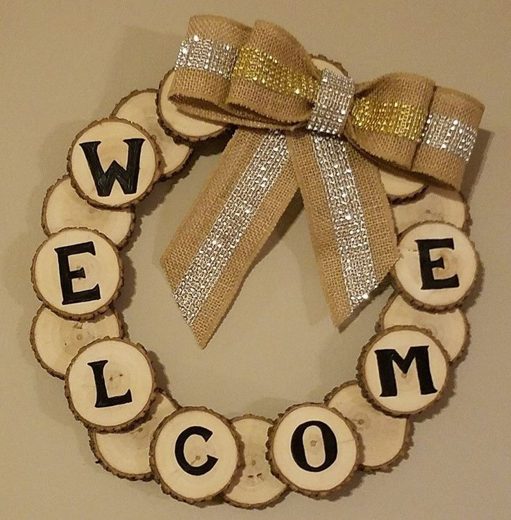 1000+ Ideas About Welcome Wreath On Pinterest