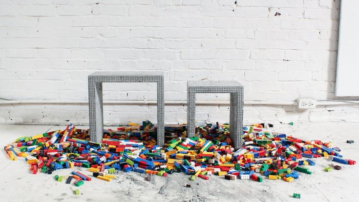 If you're the kind of person who likes to build things for yourself, chances are that Lego was your first building tool. You can still make amazing stuff using Legos, like these sweet concrete nesting tables. Watch this video to learn how to do it.