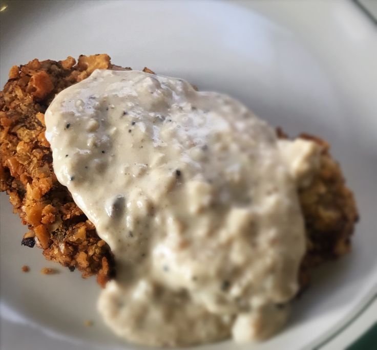 Chicken fried steak is one of my favorite comfort foods. I mean really, cube steak coated in seasoned flour and saltine crackers, then fried and smothered in gravy, what's not to love??…
