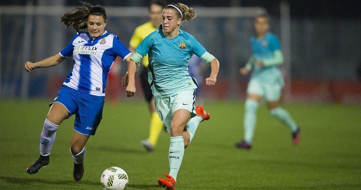 El Fútbol Club Barcelona femeninoalcanza el liderato de la Liga femenina Iberdrola, después de golear en el derbi catalán al Español de Barcelona por 6 goles a 1. Éste resultado le permite a las c…