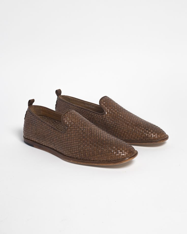 Ipanema Weave Leather Loafer