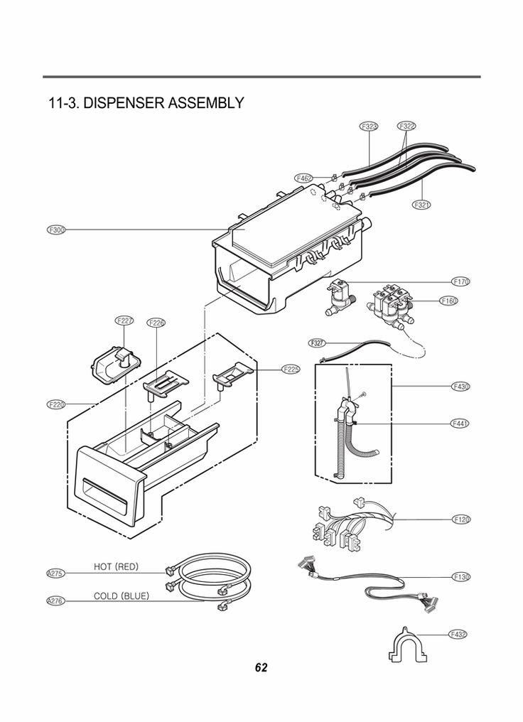 LG Washer WM2501HVA Parts List