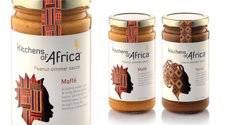 Kitchens of Africa - TRIDIMAGE | Casos de Estudio | 3D branding & diseño estructural y gráfico de packaging | Diseño de envases y etiquetas