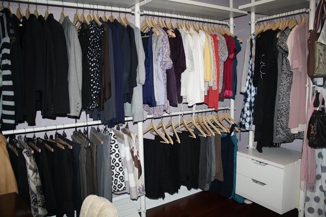 closet system ikea and dressing rooms on pinterest. Black Bedroom Furniture Sets. Home Design Ideas