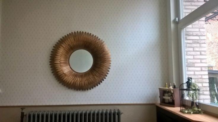 Best 20 papier peint effet bois ideas on pinterest tables de toilette de s - Papier peint effet miroir ...