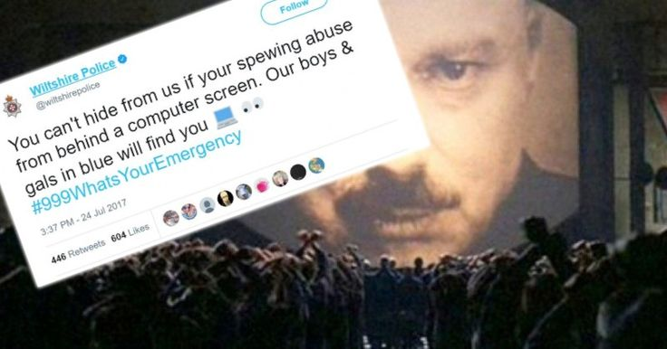 UK Police Force Tells People to Call Emergency Number Over Offensive Tweets
