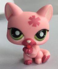 LITTLEST PET SHOP FIGURE - PINK PAW LICKING CATS #1846