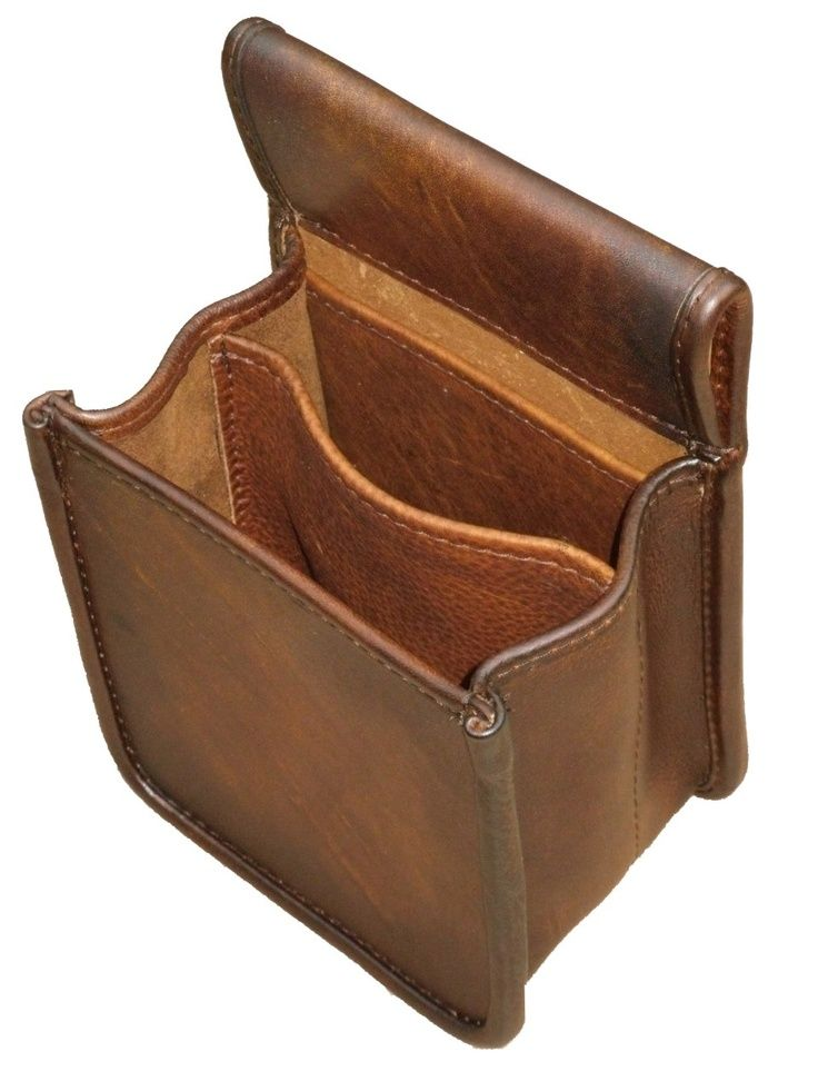 Classic 3 Pocket Shell Bag - The Leatherman Traditional Leather Goods Inc Store