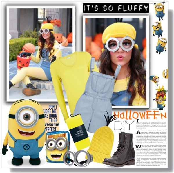 despicable me diy halloween costume by sarah crotty liked on polyvore - Judy Moody Halloween Costume