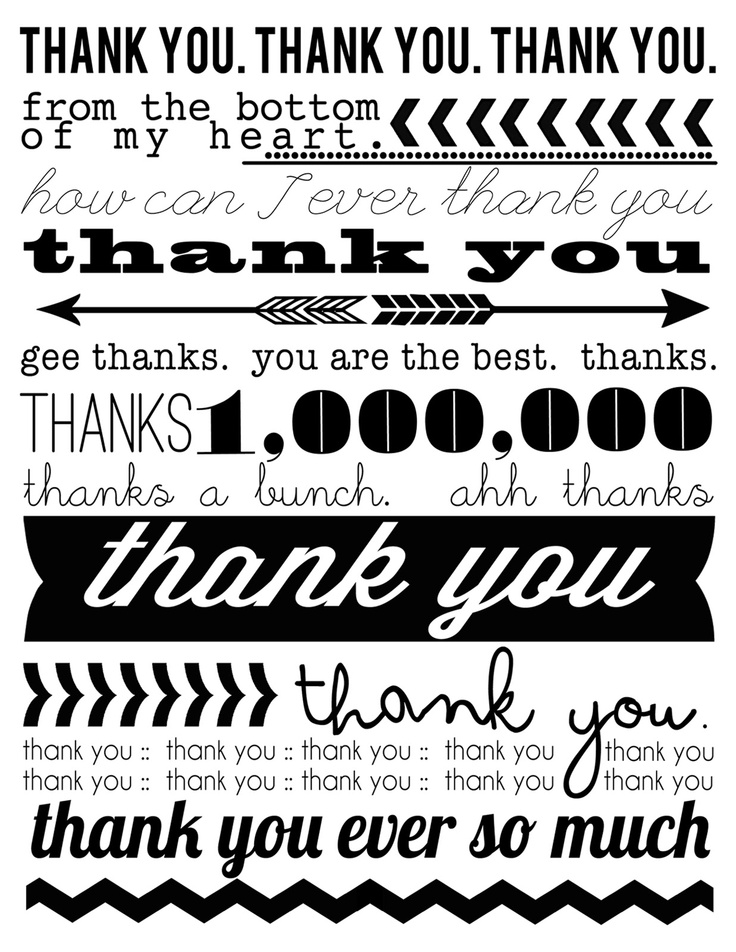 17 Best ideas about Thank You Cards Free on Pinterest | Free cards ...