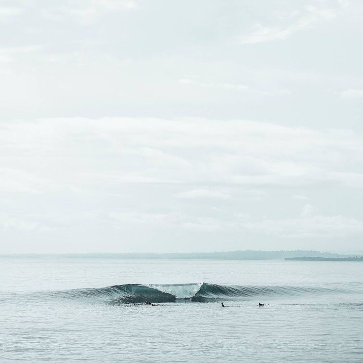Would you go left or right? What a nice and clean wave. Great for surfing! Awesome photo via Surfslab.