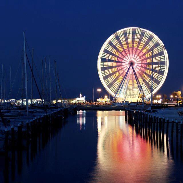 Ferris wheel Rimini, Italy