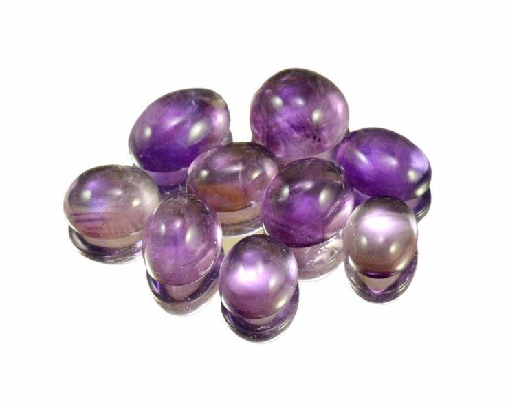 27ct / 9pcs VS Natural Purple Amethyst Quartz Loose Gemstone Wholesale Lot #krishnagemsnjewels #Loose #Amethyst Quartz #Gemstone #Rare From India
