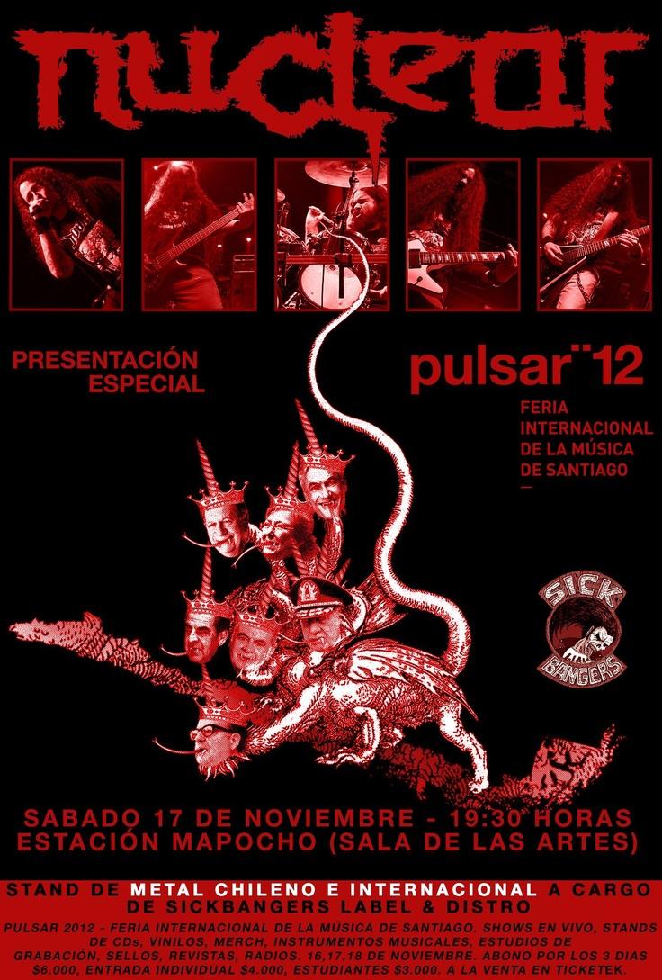 17 de Noviembre: Nuclear en Feria Pulsar '12